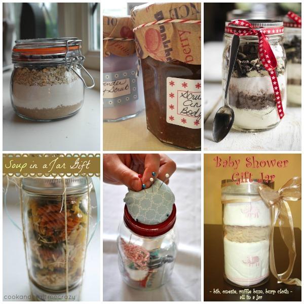 Gift in a Jar Ideas