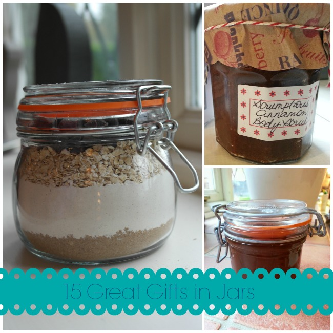 Gifts in Jars Roundup