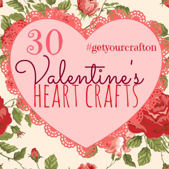 30 Valentine's Heart Crafts