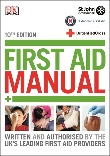 First Aid Manual book jacket