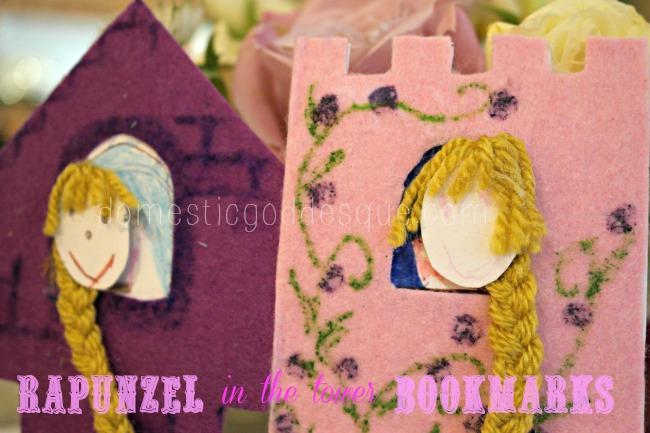 Rapunzel Fairytale Bookmarks