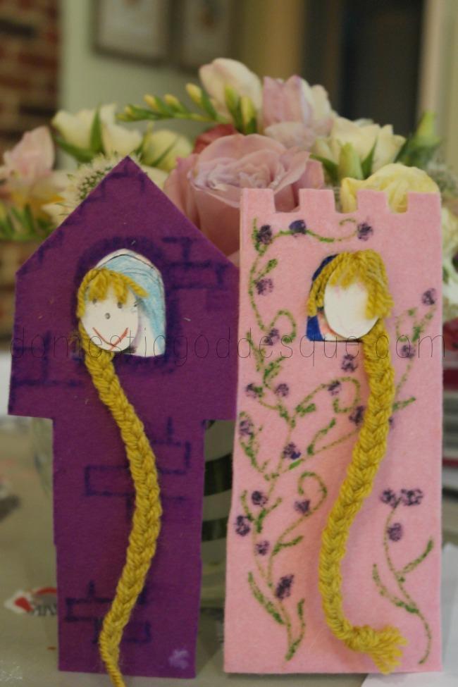 Rapunzel Bookmarks