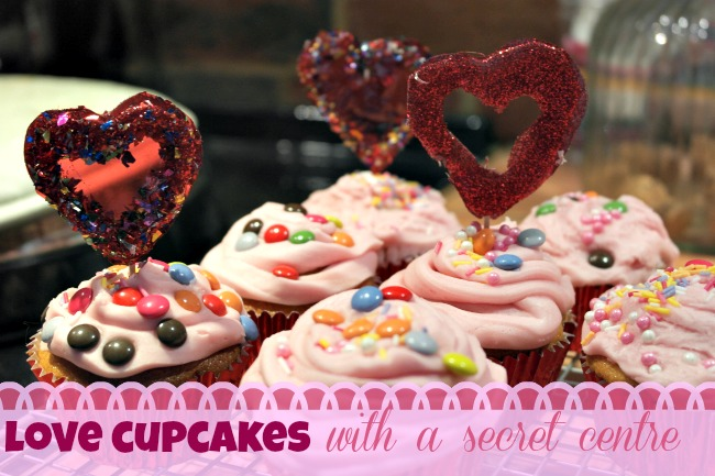 secret centre love cupcakes
