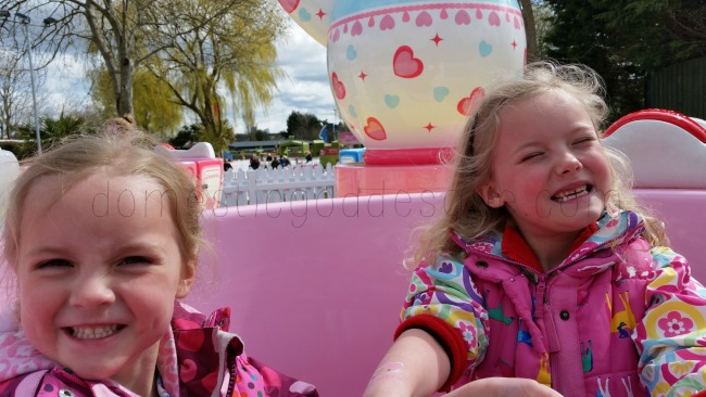 tea cups ride Hello Kitty Garden Sussex