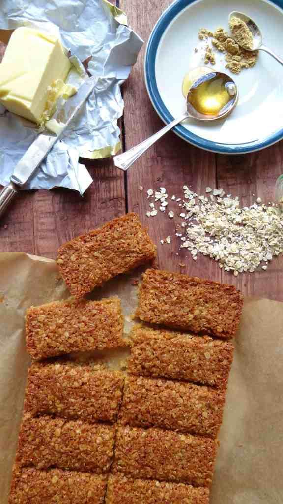 ginger coconut oat bars