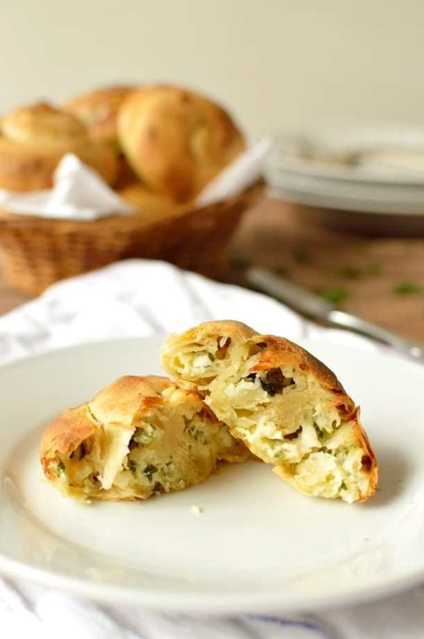 Halloumi cheese buns - Domestic Gothess