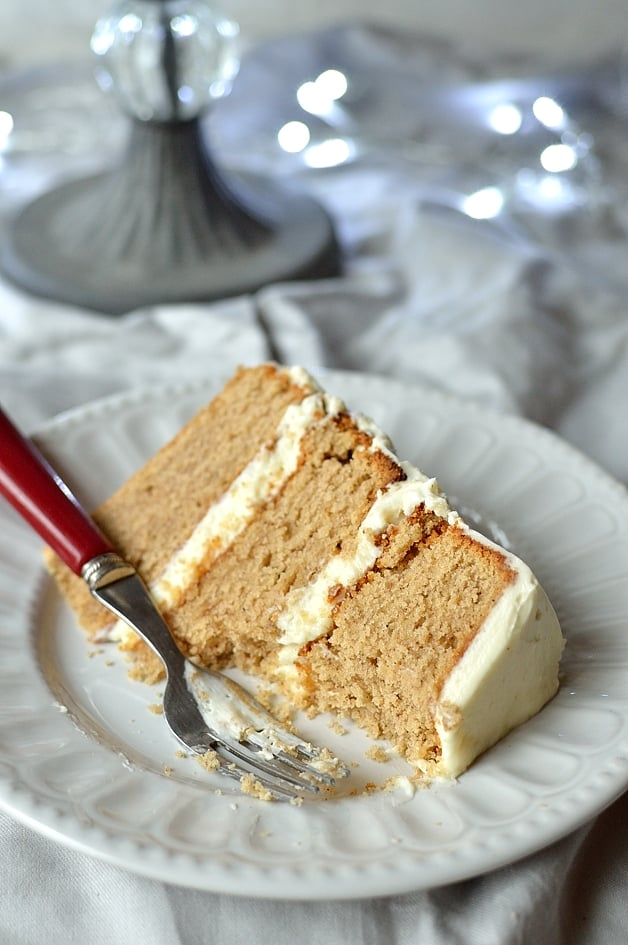 Buttermilk Spice Cake With Vanilla Mascarpone Icing ...