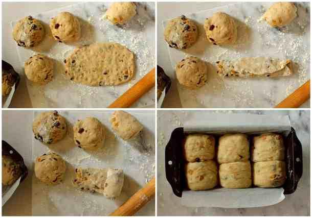 hokkaido milk bread shaping