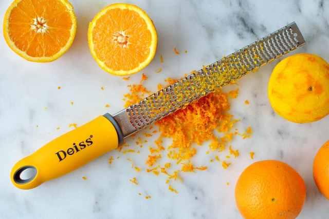 Deiss pro citrus zester and grater
