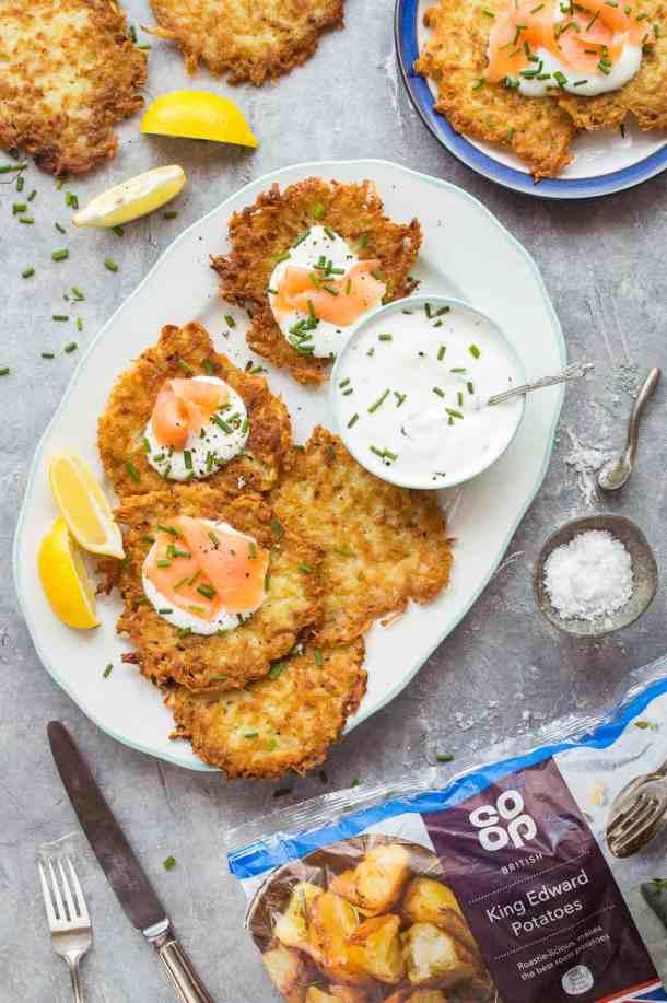 Co-op King Edward potato latkes