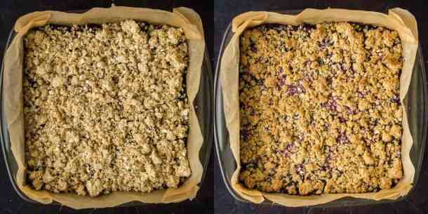 berry crumble bars step 4