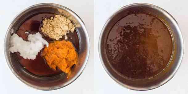 pumpkin spice granola step 2