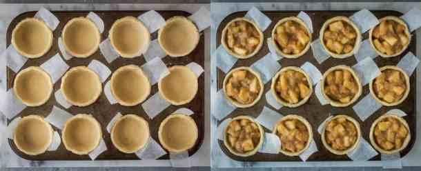 vegan pentagram apple pies step 3