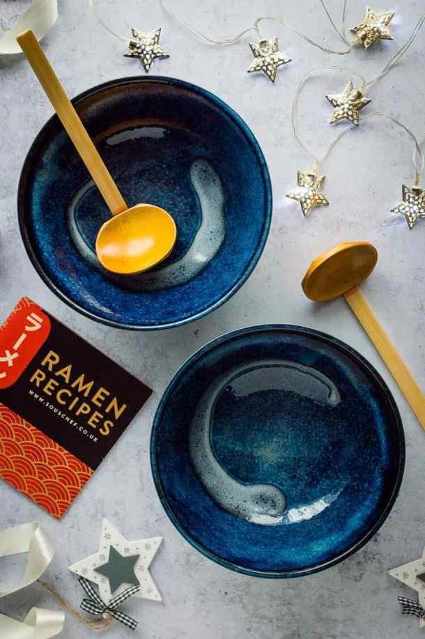 SousChef Japanese ramen bowls