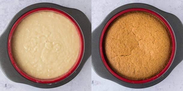 step 2 - baking the cake