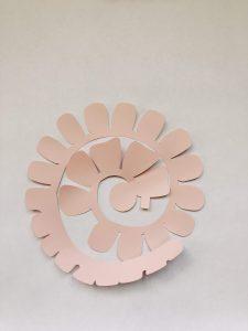 paper rose template