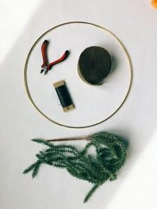 bridal hoop materials