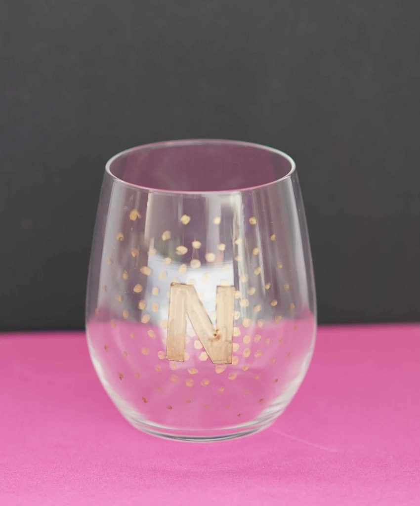 DIY Sharpie Wine Glass