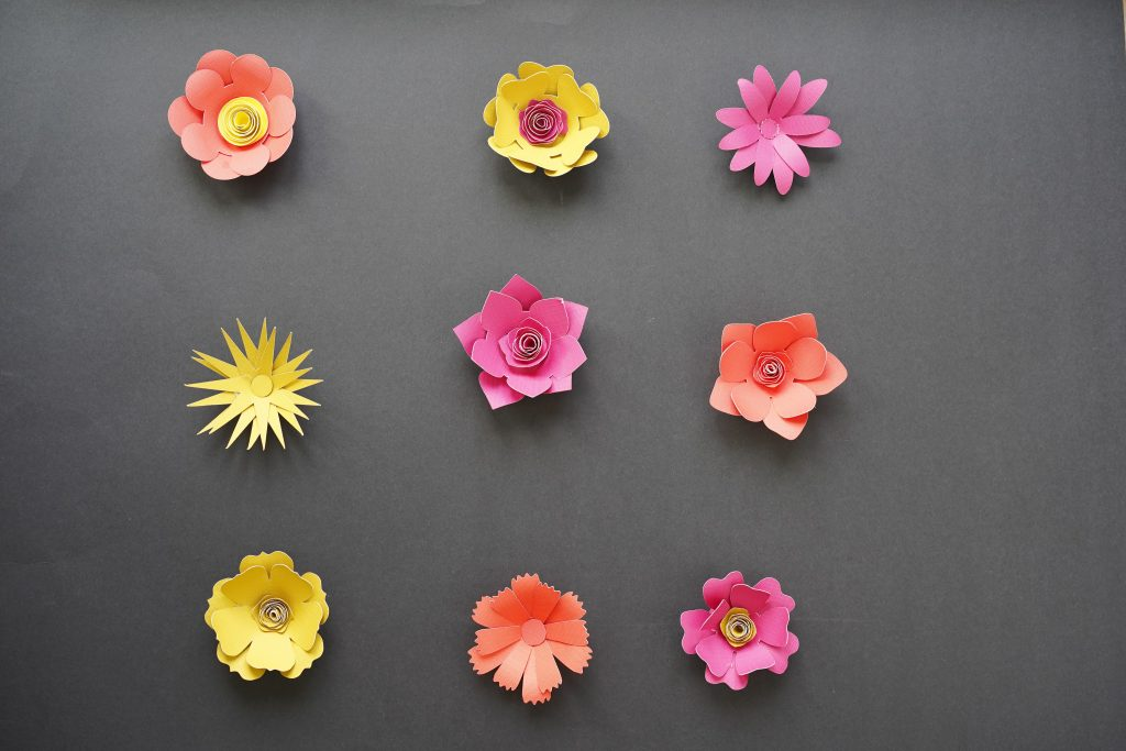 Rolled Paper Flowers Domestic Heights