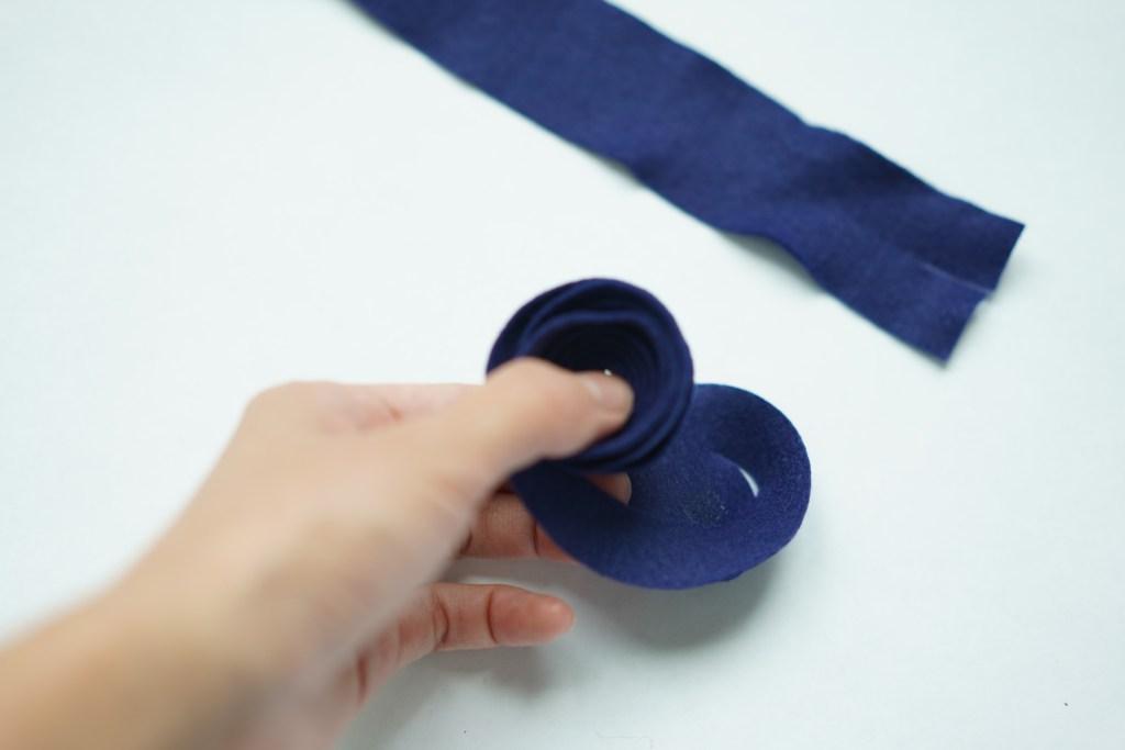 felt napkin ring