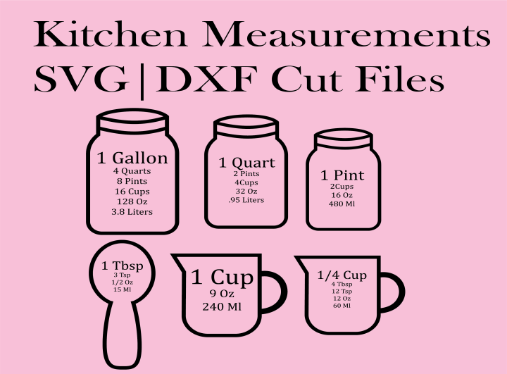 Download Free Kitchen SVG Cut Files - DOMESTIC HEIGHTS