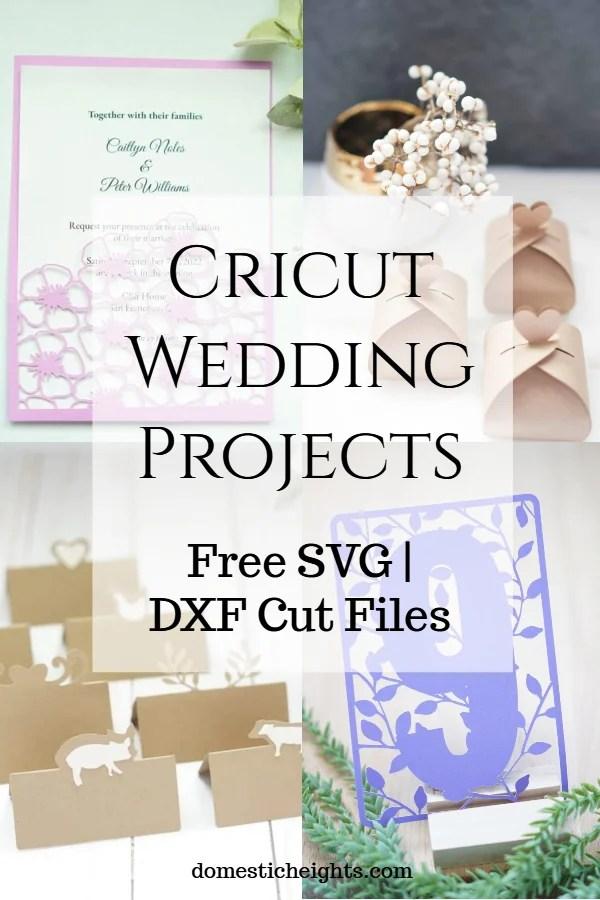 free cricut wedding cut files