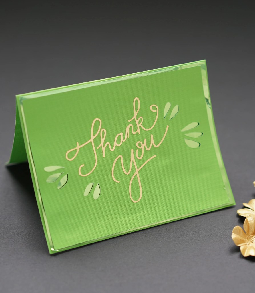 free cricut card designs free cricut thank you cards