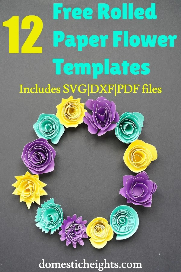 free paper flower templates paper flowers template