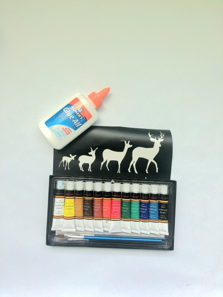 paint acrylic on wood