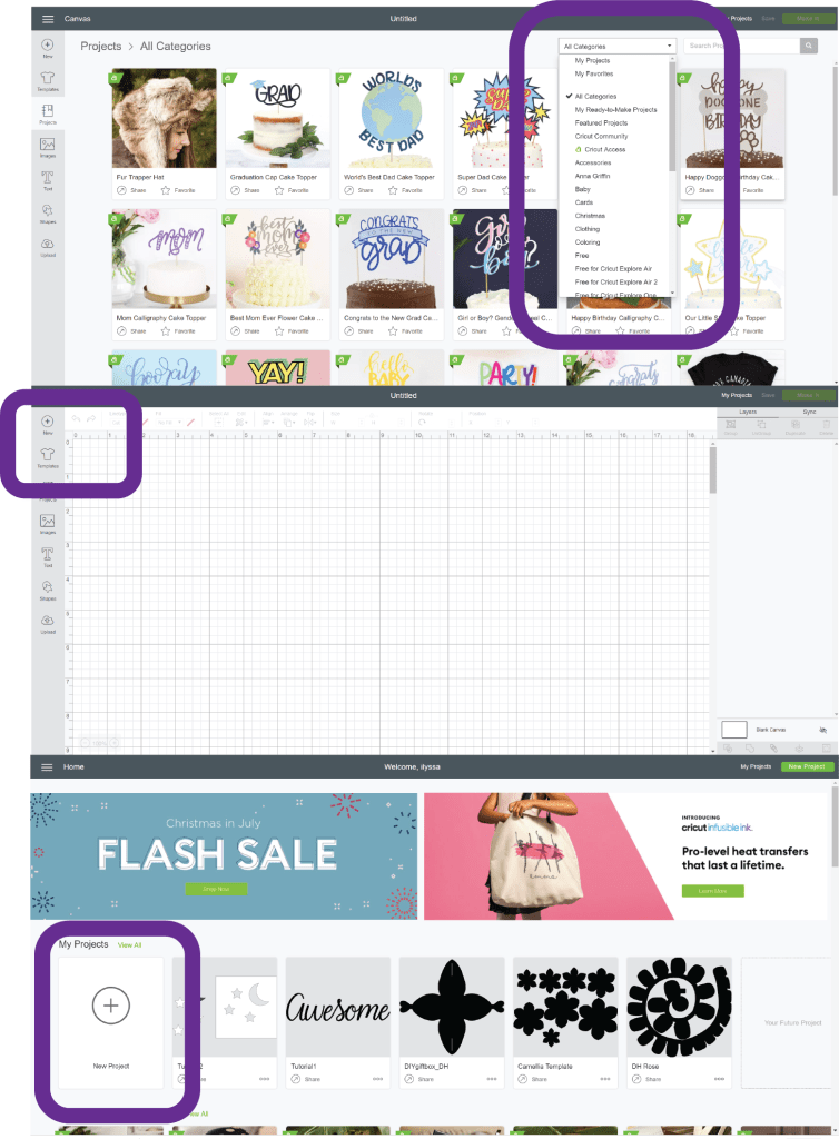 Cricut Design Space Tutorials with 100+ Free Projects - DOMESTIC HEIGHTS