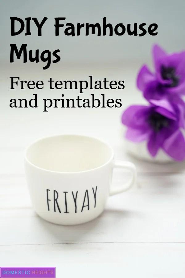 diy rae dun mugs