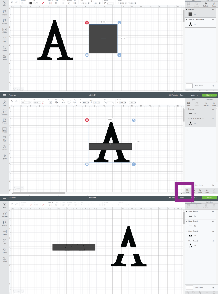 How to Split Letters in Cricut Design Space