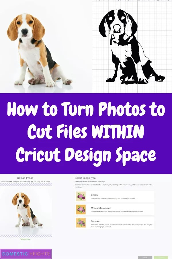 photo to cut file cricut