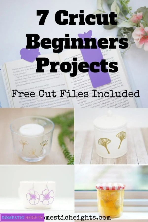 cricut beginners projects with paper and vinyl