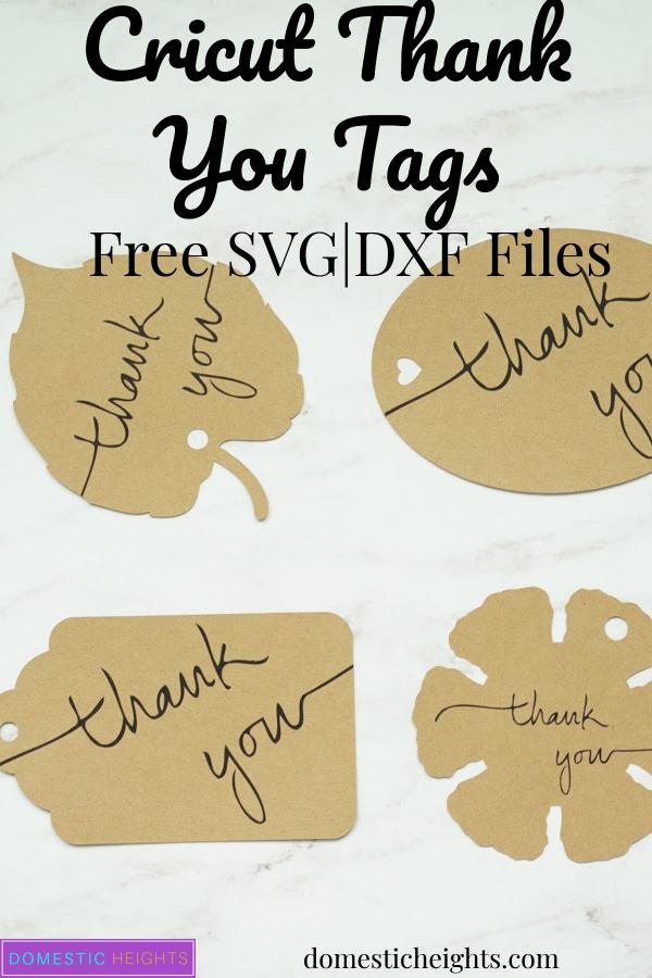 free cricut thank you card tag svg templates
