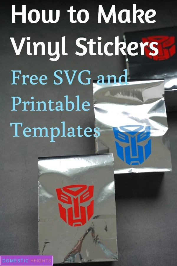 how to make vinyl decals with cricut