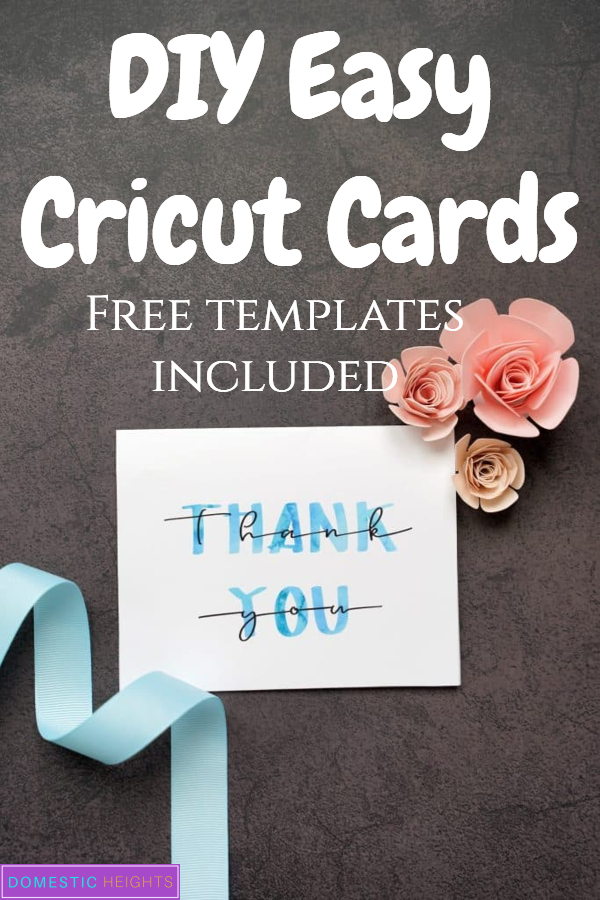 diy cricut card templates and tutorials