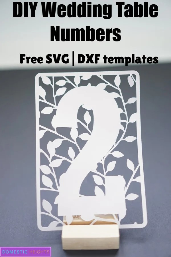 diy cricut wedding free svg template cut files and project ideas