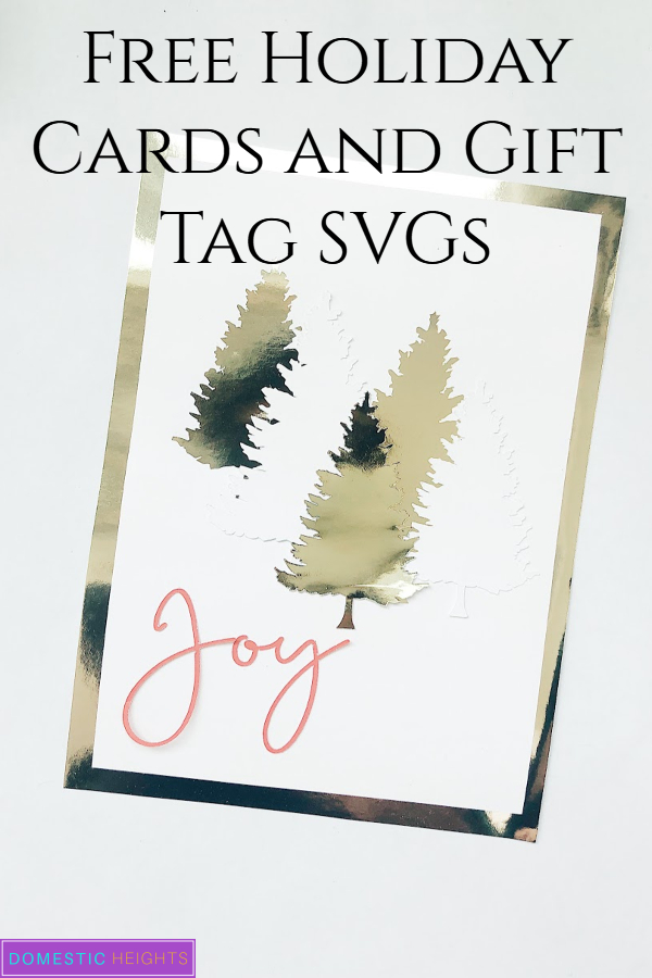 svg christmas cards, layered cards cricut