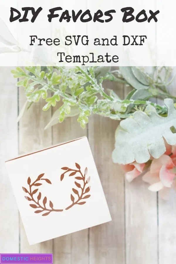 cricut box templates