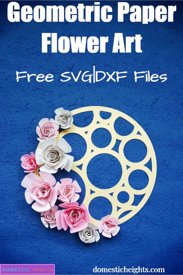 diy paper flower wall art