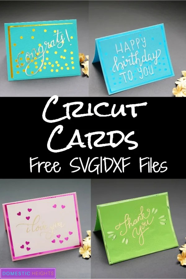 Download Hand Lettered Cricut Cards - DOMESTIC HEIGHTS