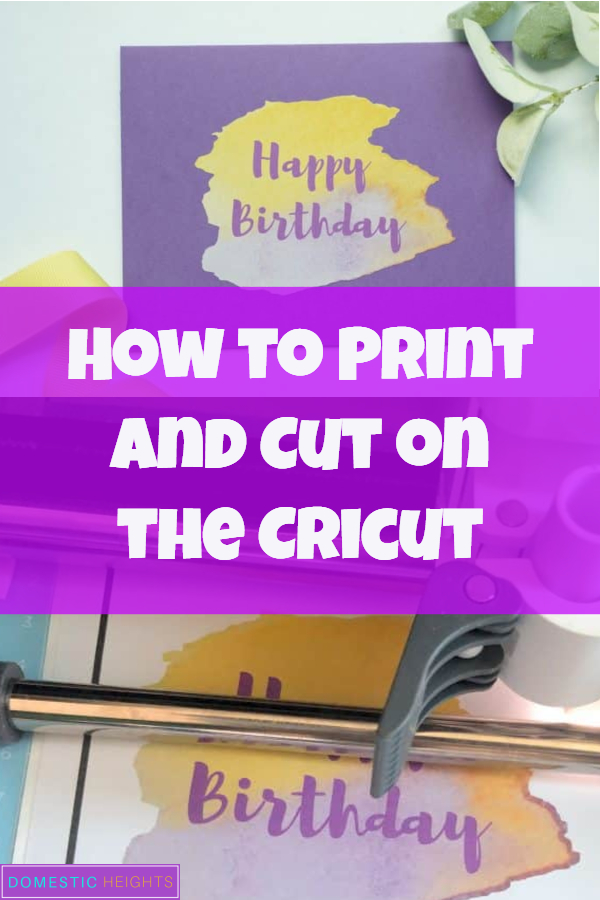 how to print and cut on cricut explore air 2