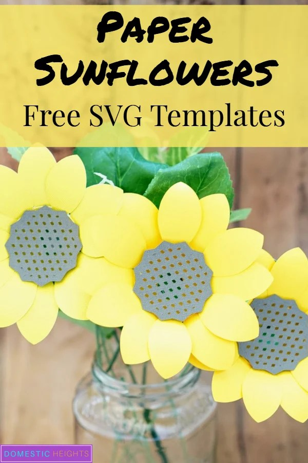 paper sunflower template giant paper sunflower template diy paper sunflower template paper sunflower template free
