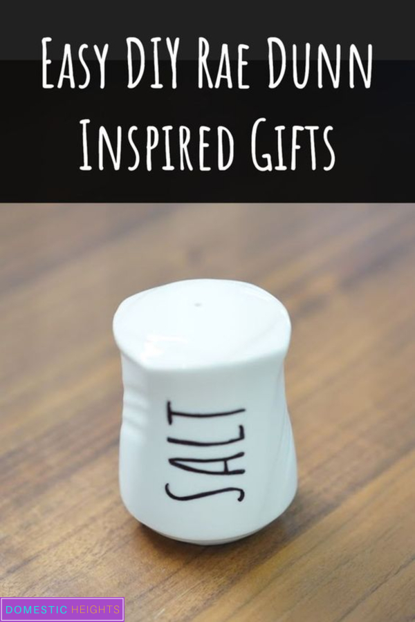 DIY Rae Dunn sharpie project, farmhouse gift idea, cricut template