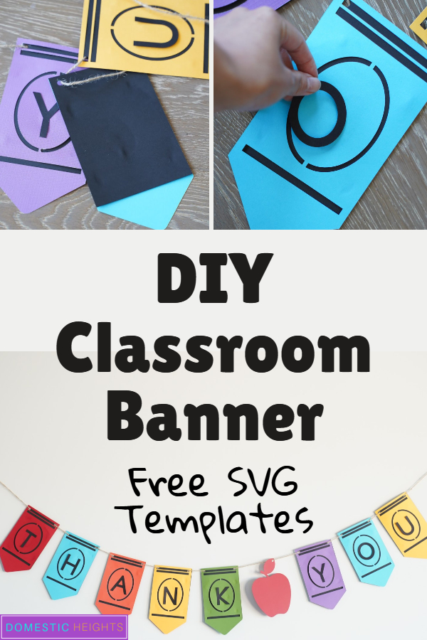 Cricut classroom decorations ideas, free svg templates, teach appreciation