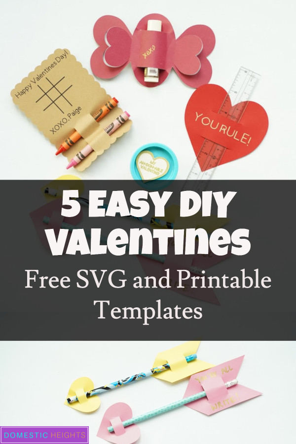 DIY Kids Valentine card