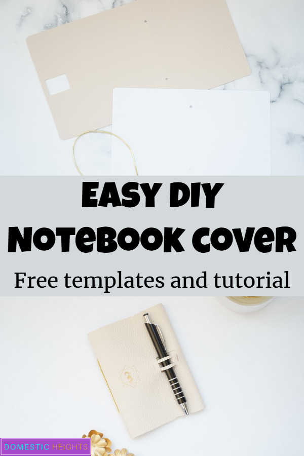 How to make your own journal cover