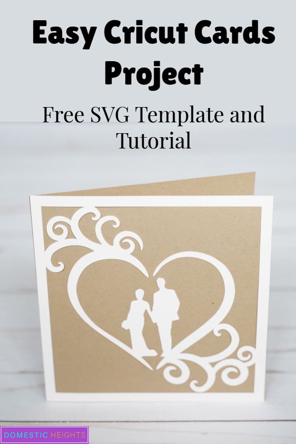 Cricut cardmaking idea