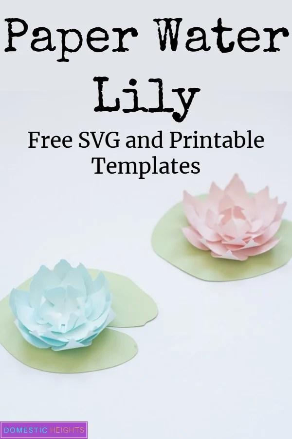 Paper lotus flower tutorial